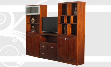 Mobilia s a muebles en madera maciza for Modulos para comedor