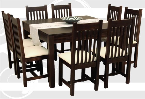 Mobilia s a muebles en madera maciza for Ver mesas y sillas de comedor
