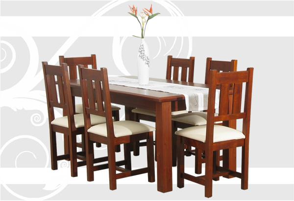 Mobilia s a muebles en madera maciza for Catalogo de sillas de madera